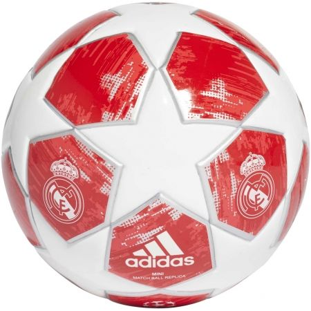 Mini fotbalový míč - adidas FINALE 18 REAL MADRID FC MINI - 1