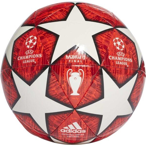 adidas UCL FINALE MADRID CAPITANO bílá 3 - Fotbalový míč