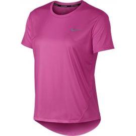 Nike MILER TOP SS - Tricou alergare damă