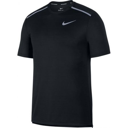 Pánske bežecké tričko - Nike NK DRY MILER TOP SS - 1