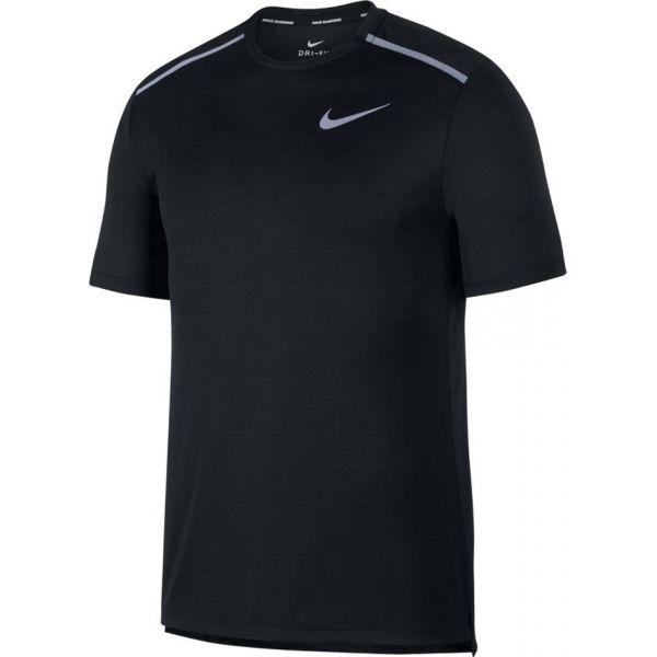 Nike NK DRY MILER TOP SS fekete XXL - Férfi póló futáshoz