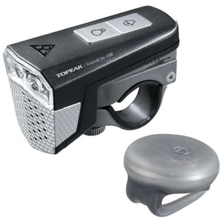 Front bicycle light - Topeak SOUNDLITE USB - 1