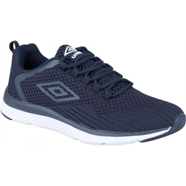 Umbro REDCOTE tmavě modrá 12 - Pánská volnočasová obuv