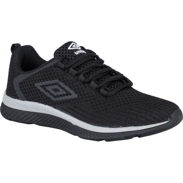 Umbro REDCOTE černá 11.5 - Pánská volnočasová obuv