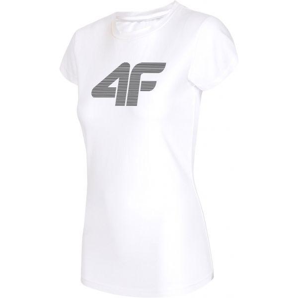 4F NŐI PÓLÓ fehér L - Női póló