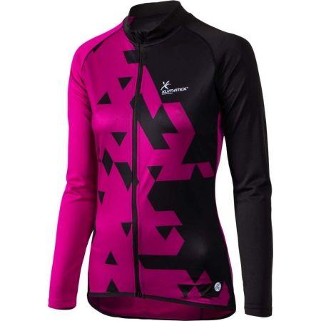 Women's long sleeve cycling jersey - Klimatex JOSETE - 1