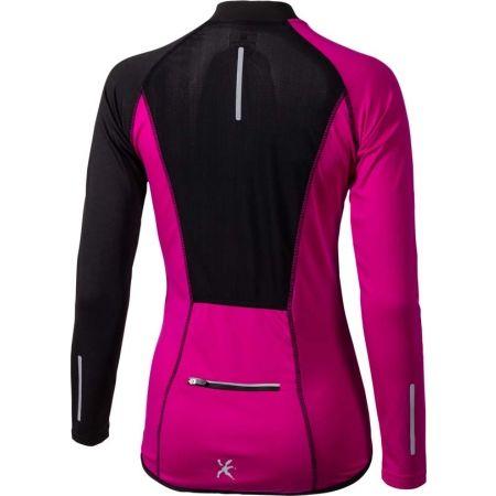 Women's long sleeve cycling jersey - Klimatex JOSETE - 2