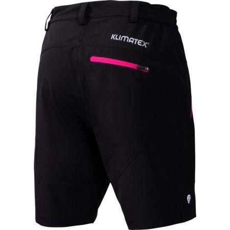 Women's MTB shorts with cycling underwear - Klimatex BORSALA - 2