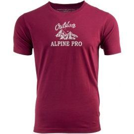 ALPINE PRO DARNELL 2 - Pánske tričko