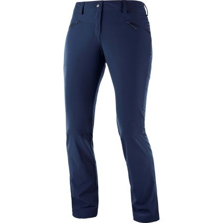 Salomon WAYFARER STRAIGHT LT P - Dámske outdoorové nohavice