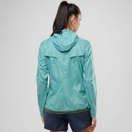 Dámska bežecká bunda - Salomon AGILE WIND PRINT HOODIE W - 3