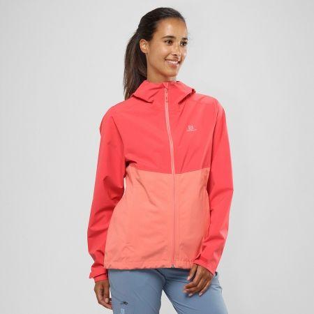 Dámská outdoorová bunda - Salomon LA COTE FLEX 2.5 JKT W - 3