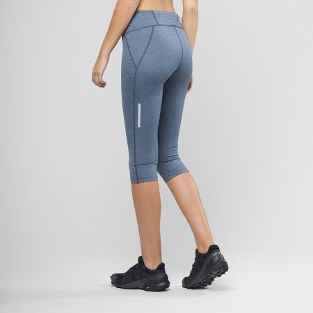 Dámské běžecké kalhoty - Salomon AGILE MID TIGHT W - 3