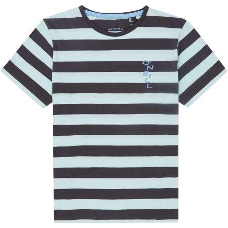 Chlapčenské tričko - O'Neill LB STRIPED S/SLV T-SHIRT - 1