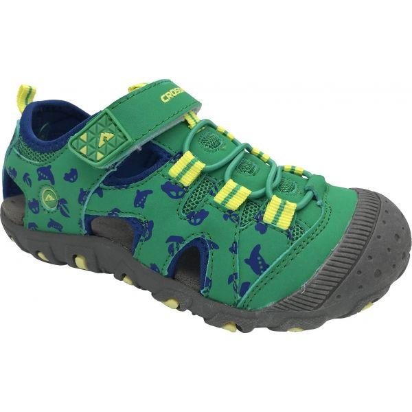 Crossroad MUGEN zelená 26 - Detské sandále