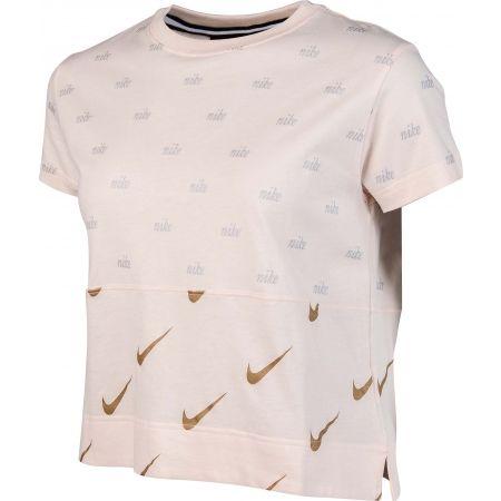 Women's T-shirt - Nike NSW TOP SS METALLIC - 2