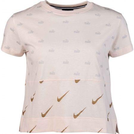 Women's T-shirt - Nike NSW TOP SS METALLIC - 1