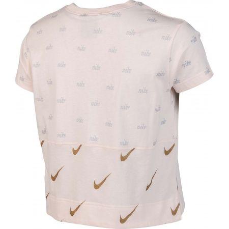 Women's T-shirt - Nike NSW TOP SS METALLIC - 3