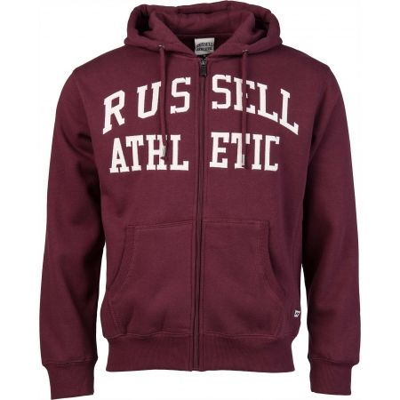 Men's sweatshirt - Russell Athletic ZIP THROUGH TACKLE - 1