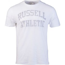 Russell Athletic CLASSIC S/S CREW NECK REVERSE PRINTED TEE SHIRT - Мъжка тениска