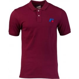 Russell Athletic CLASSIC POLO WITH SLANTED R SATINE EMBROIDERY - Tricou polo de bărbați