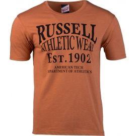 Russell Athletic AMERICAN TECH S/S CREWNECK TEE SHIRT - Pánské tričko