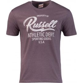 Russell Athletic PROPERTY OF S/S CREWNECK TEE SHIRT - Men's T-shirt
