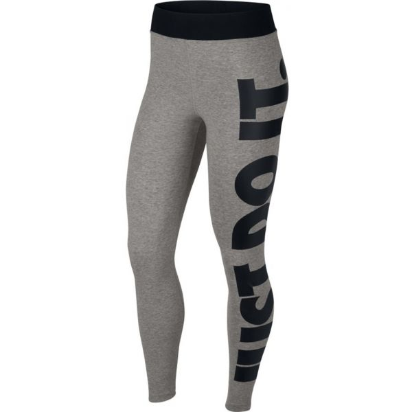 Nike NSW LEGASEE LGGNG HW JSI sivá XL - Dámske legíny