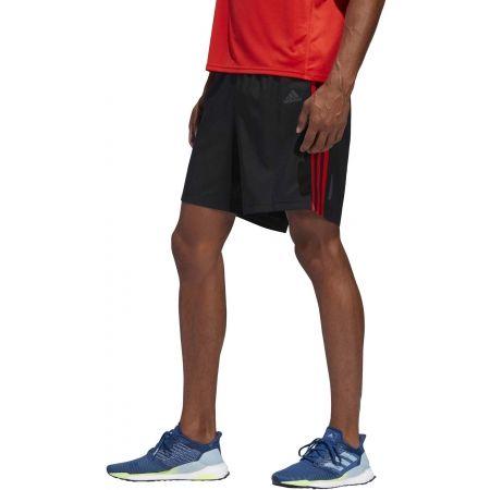 Pánské běžecké šortky - adidas RUN 3S SHO M - 4