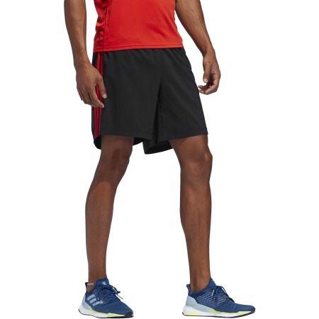Pánské běžecké šortky - adidas RUN 3S SHO M - 5