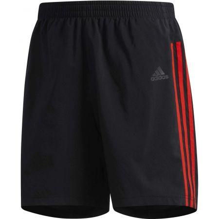 Pánské běžecké šortky - adidas RUN 3S SHO M - 1