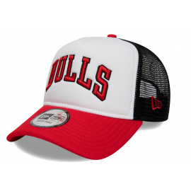 New Era TEAM TRUCKER CHICAGO BULLS