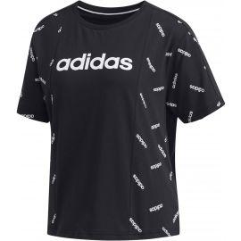 adidas W PRINT TEE - Dámské tričko