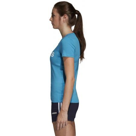 Women's T-shirt - adidas ESSENTIALS LINEAR SLIM TEE - 4