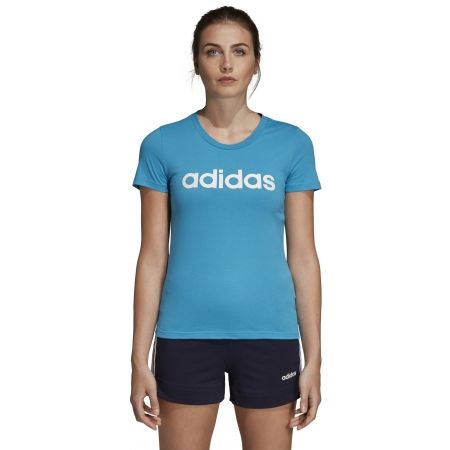 Women's T-shirt - adidas ESSENTIALS LINEAR SLIM TEE - 3