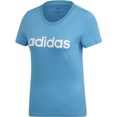 Women's T-shirt - adidas ESSENTIALS LINEAR SLIM TEE - 1