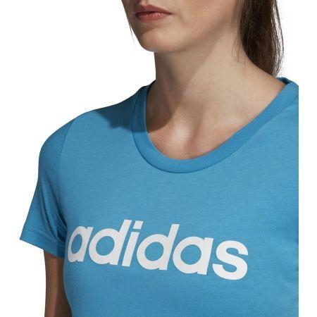 Women's T-shirt - adidas ESSENTIALS LINEAR SLIM TEE - 5