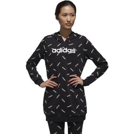 adidas W ADIDAS PRINT HOODY | sportisimo.pl
