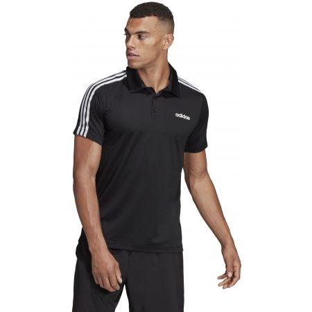Men's T-shirt - adidas DESIGN2MOVE 3S POLO - 5
