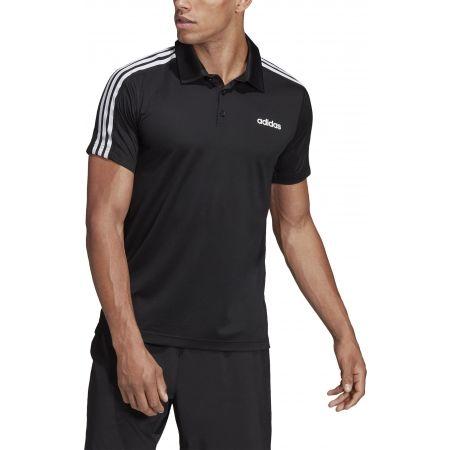 Men's T-shirt - adidas DESIGN2MOVE 3S POLO - 4
