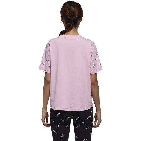 Dámské tričko - adidas W PRINT TEE - 5