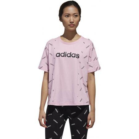 Dámské tričko - adidas W PRINT TEE - 4