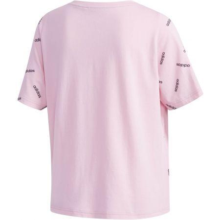 Dámské tričko - adidas W PRINT TEE - 2