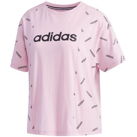 Dámské tričko - adidas W PRINT TEE - 1