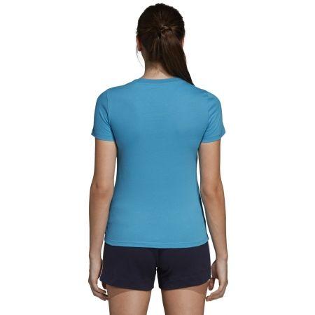 Women's T-shirt - adidas ESSENTIALS LINEAR SLIM TEE - 8