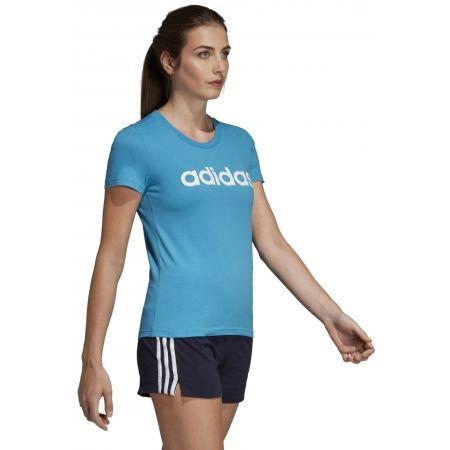 Women's T-shirt - adidas ESSENTIALS LINEAR SLIM TEE - 9