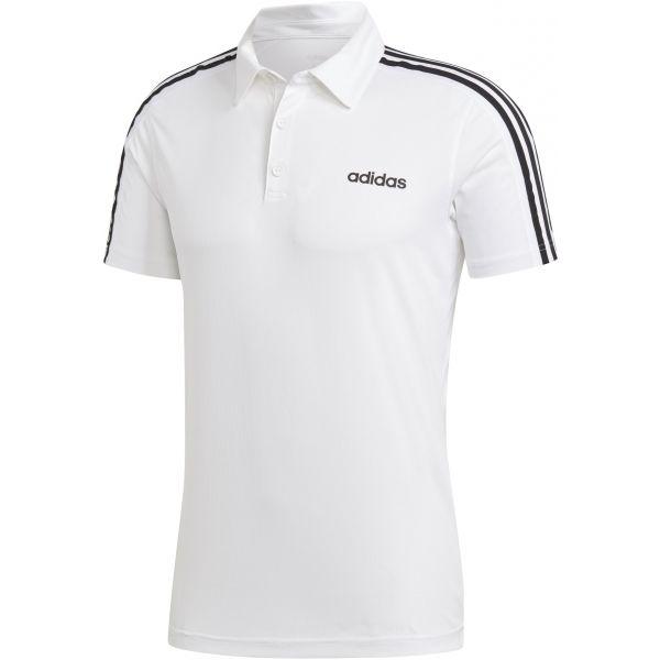 adidas DESIGN2MOVE 3S POLO fehér M - Férfi póló
