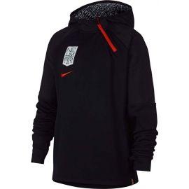 Nike NYR DRY HOODIE QZ NEYMAR - Hanorac fotbal de băieți