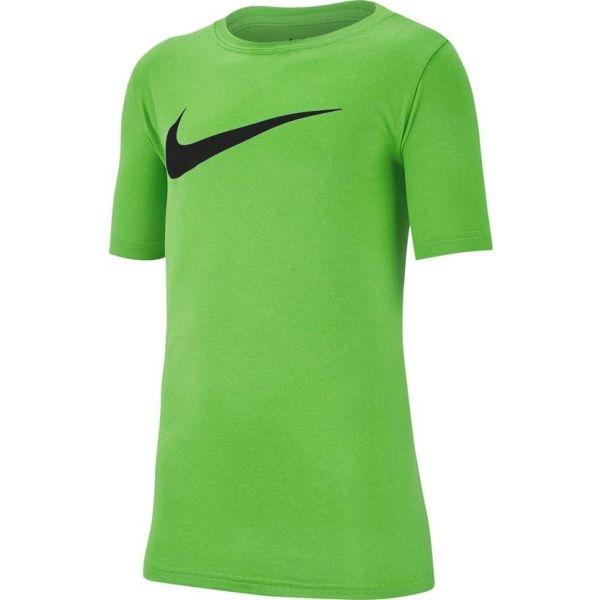 Nike DRY TEE LEG SWOOSH zöld XL - Fiú sportpóló