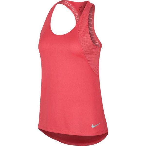Nike RUN TANK růžová XS - Dámské běžecké tílko
